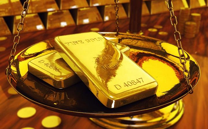 Giá vàng thấp nhất trong vòng một tháng qua