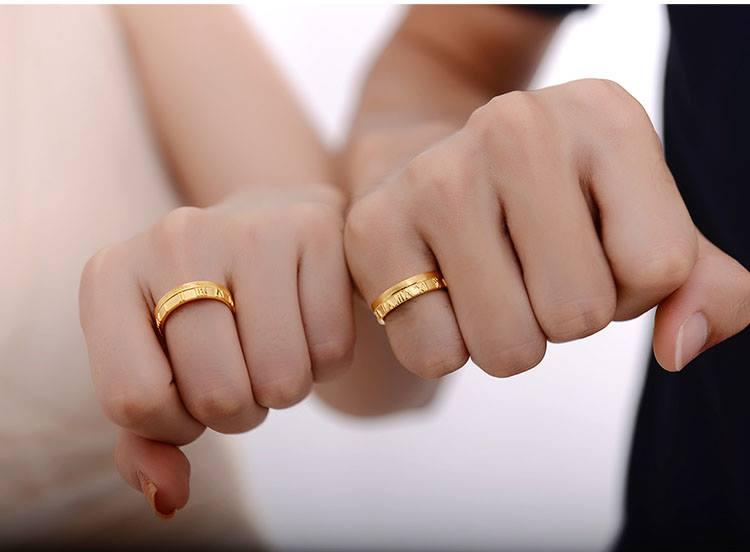 Chọn mua nhẫn cưới : cổ điển luôn hợp thời