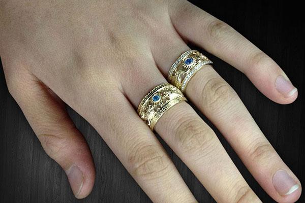 Ý nghĩa phong thủy của từng ngón tay đeo nhẫn