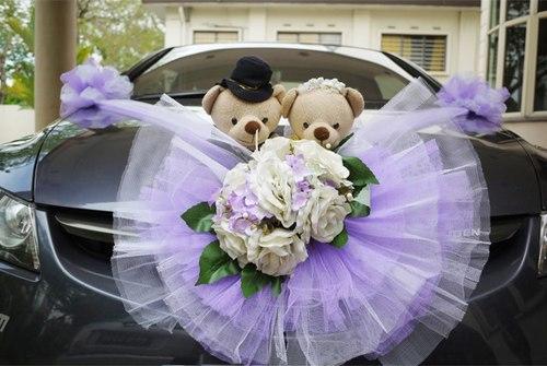 Cách giữ xe hoa luôn đẹp khi đi đón dâu xa