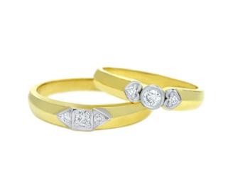 Bộ sưu tập những cặp nhẫn cưới đẹp và ý nghĩa