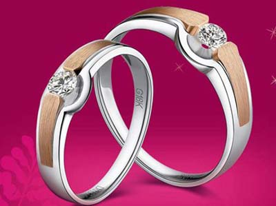 Lựa chọn nhẫn cưới hai màu đẹp và thời trang