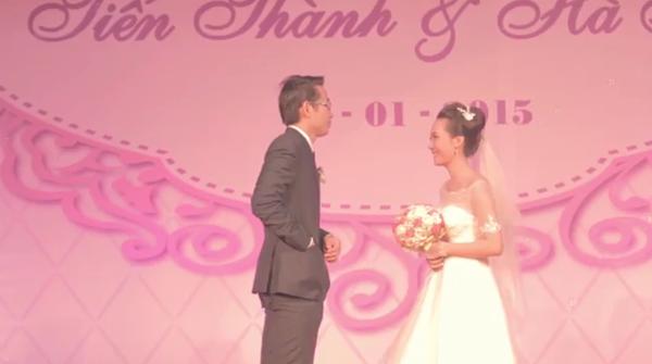 Chú rể để quên nhẫn, cô dâu bật khóc trong lễ cưới